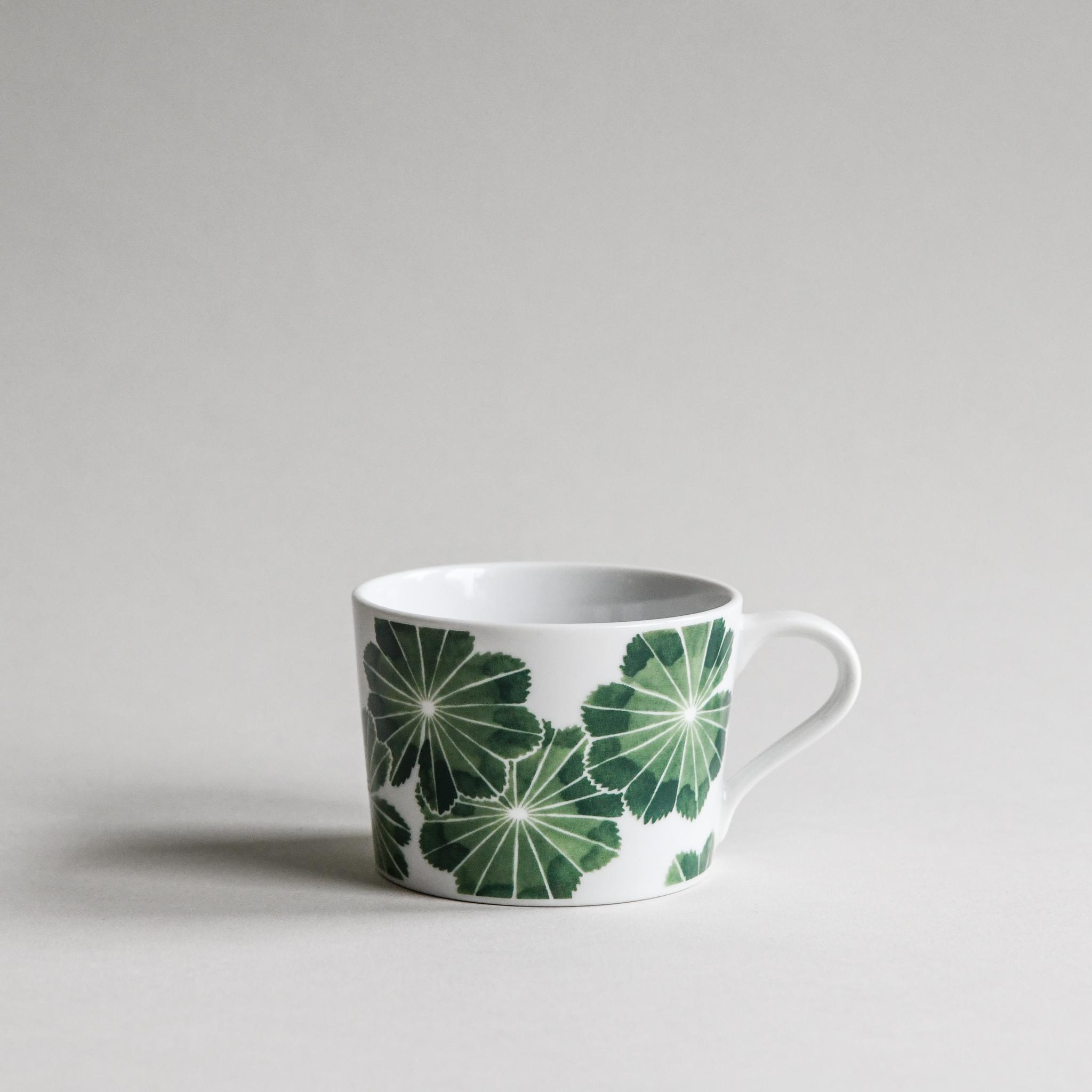 Kopp Daggkåpa grön 24 cl