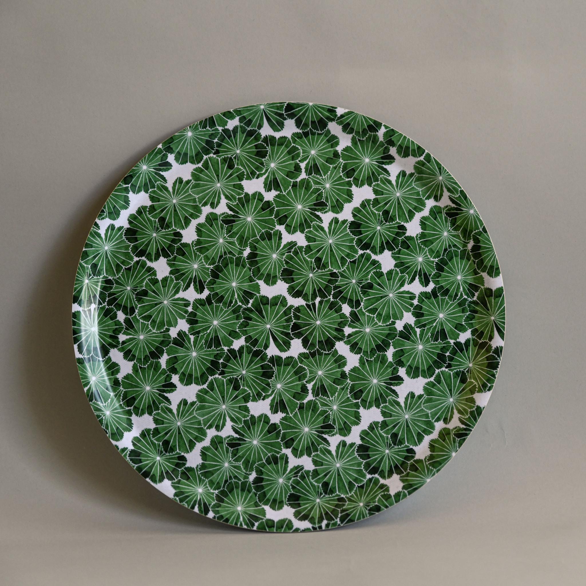 Daggkåpa Bricka grön 38cm