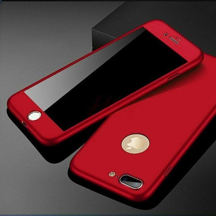 360 Skal till iPhone 5S Stötsäkert skydd + glas - Svart