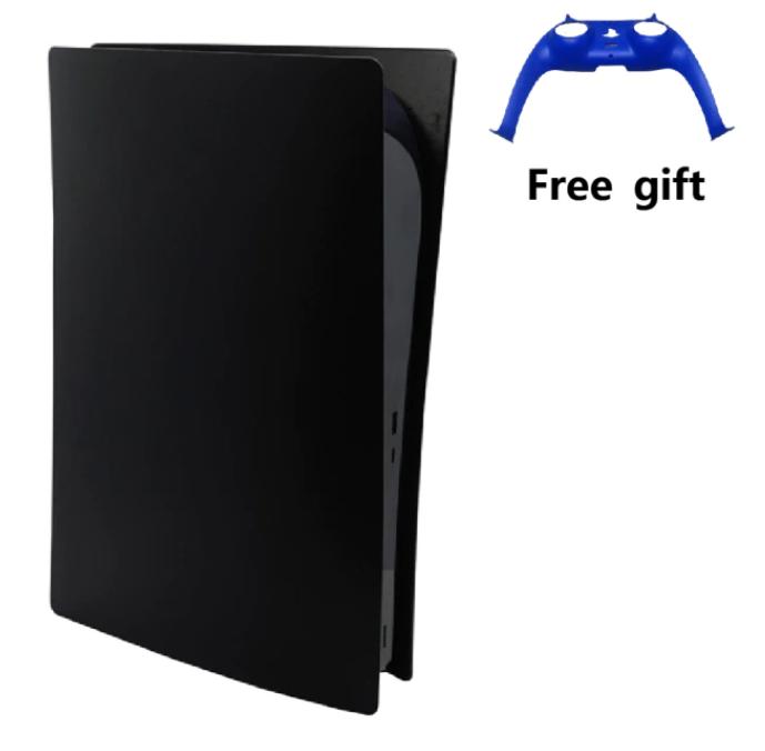 Ersättningspanel för PS5 Disc Edition + Kontrollskydd Frontplatta Anti-Scratch Skin Skal Case Cover