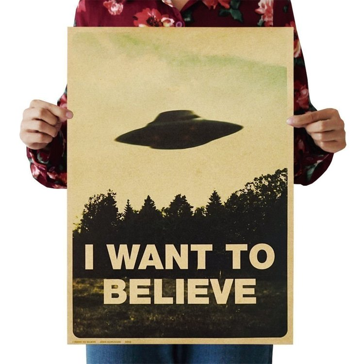 X files Arkiv X poster vintage affisch wallpaper tapet