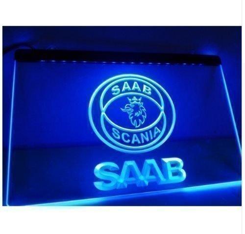 SAAB LED NEON LJUS SKYLT LIGHT SIGN NR