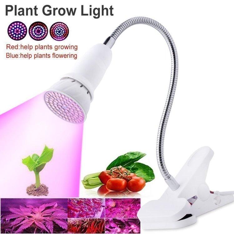 LED Växtlampa med Nasa Teknologi E27
