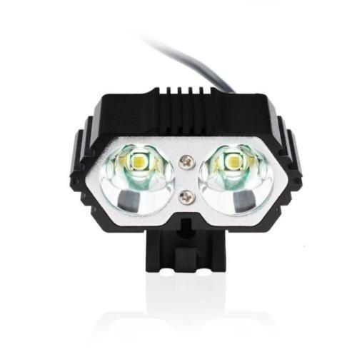 6000 Lumens 2 X CREE XM-L T6 LED USB Vattentät Lampcykel Cykellampa