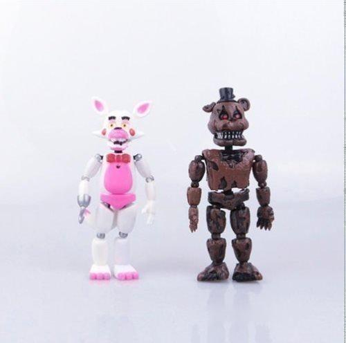 Five Nights at Freddy's Action Deluxe Set Leksak Figurer