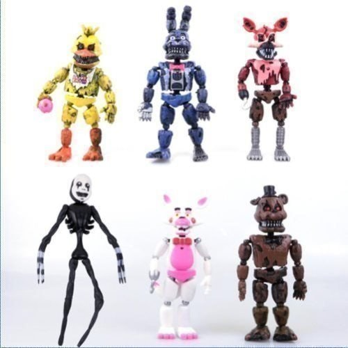 Five Nights at Freddy's Action Deluxe Set Leksak Figurer