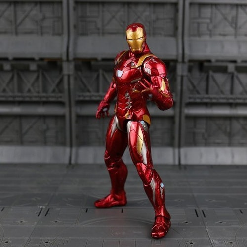 Iron Man Leksak Deluxe Action Figurer 2020