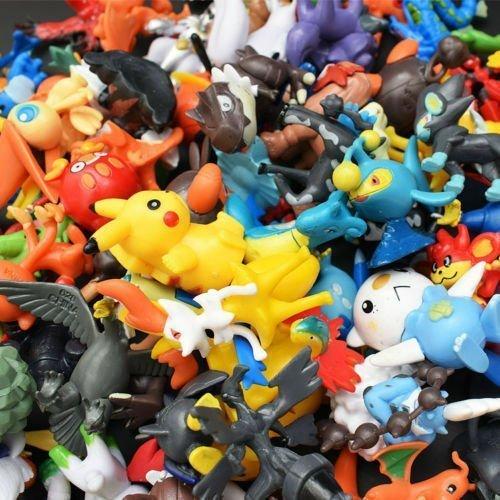 144 st Pokemon Figurer Deluxe Set