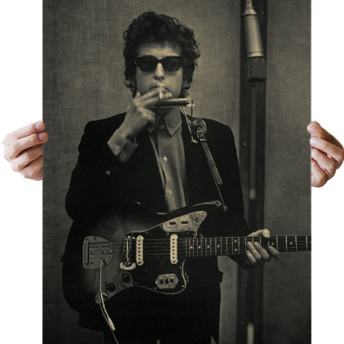 Bob Dylan poster vintage affisch wallpaper tapet