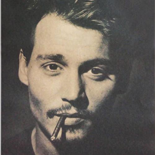 Johnny Depp poster vintage affisch wallpaper tapet