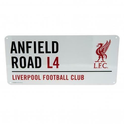 Liverpool Anfield Road Metal skylt