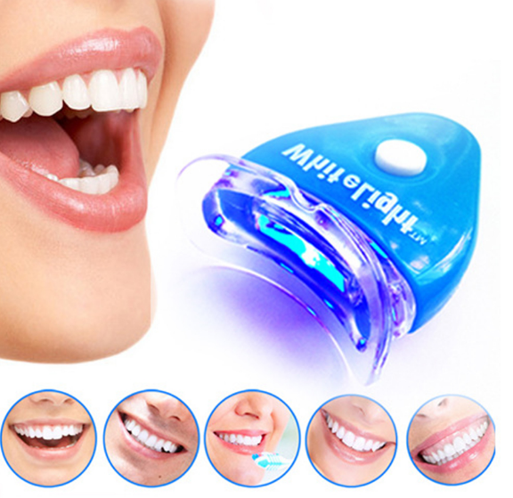 Tandblekning Teeth Whitening Kit med LED för Vitare Tänder 2020