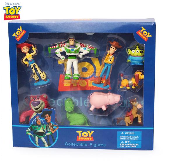 9 st Disney Toy Story Pixar Deluxe Figurer