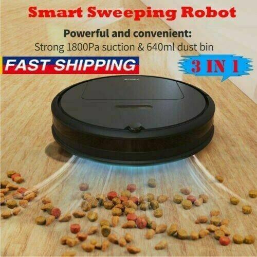 Automatisk uppladdningsbar Robotdammsugare Svepning Mattor D5K5