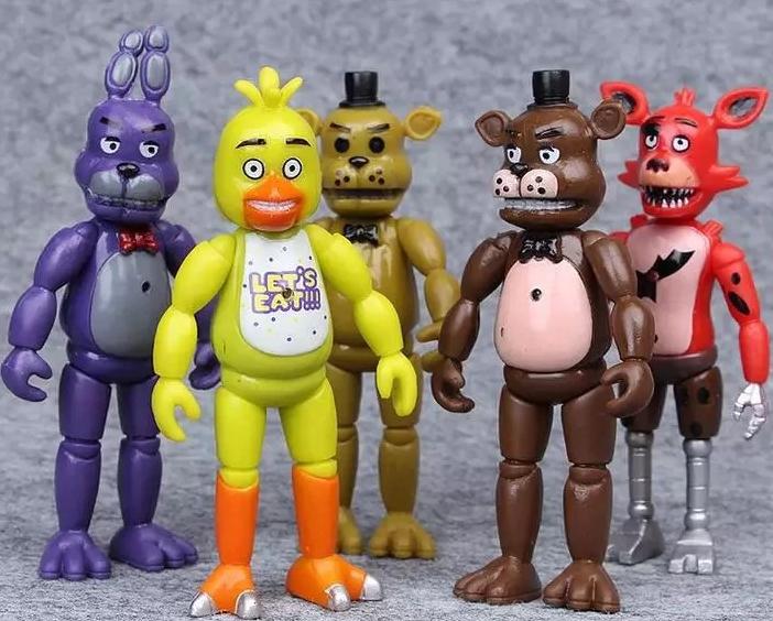 5 st Five Nights At Freddy's Figurer