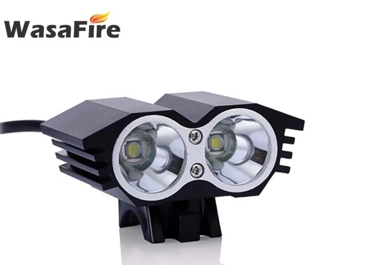 Superstark XML T6 LED Cykel Framljus Super Bright Cykellampa MTB Strålkastare + Laddningsbart 6400 mAh 18650 Batteripaket + Laddare
