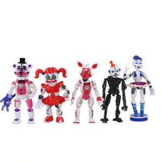 5-Pack Five Nights At Freddy's Figurer Deluxe Set