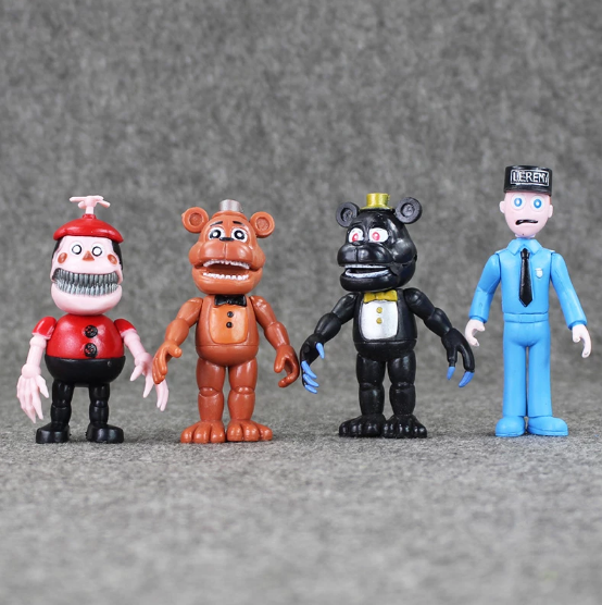 12-pack Five nights at Freddy's deluxe figurer