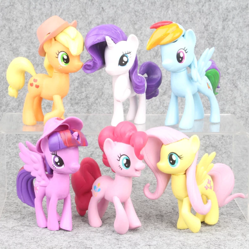 6-pack My Little Pony Deluxe Figurer Set