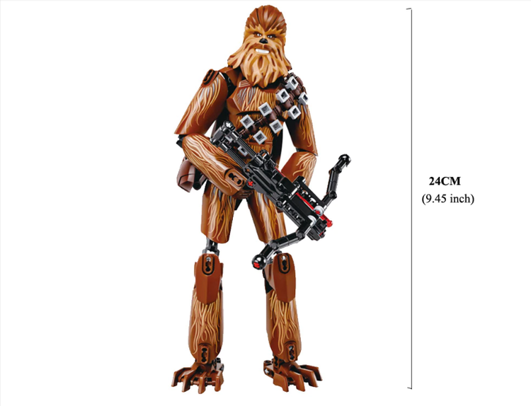 Star Wars Chewbacca Figur Deluxe