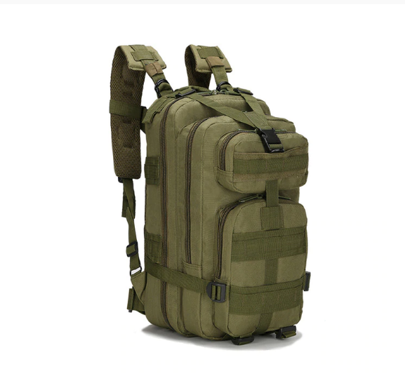 Camping Ryggväska Vandring Taktisk Ryggsäck Camo Jaktväska Backpack
