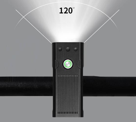 Vattentät 20000 Lumens L2/T6 Cykellampa Uppladdningsbart 1200 mAh  IPX5 Waterproof