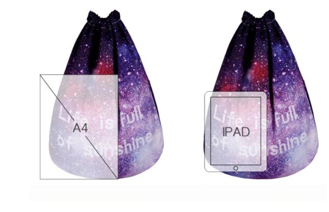Galax ryggsäck - Lila