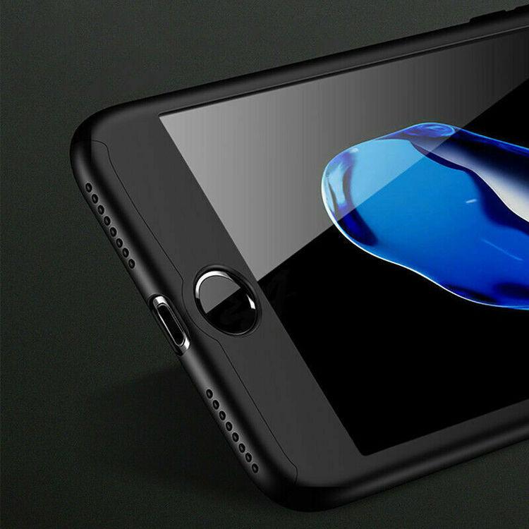 360 Skal till iPhone SE Stötsäkert skydd + glas