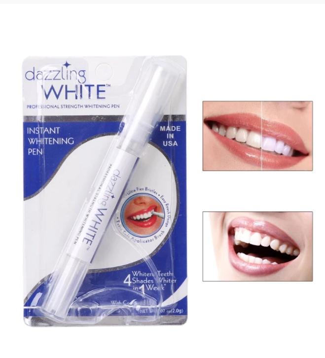 Tandblekning Penna Rengöring Serum Ta bort Plack Fläckar Tandverktyg Vitare Tänder Oral Hygien