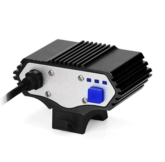 12000 Lm 3 x XML T6 LED USB Vattentät Cykellampa Ljus Framlampa Cykling Mörker Utomhus Säkerhet