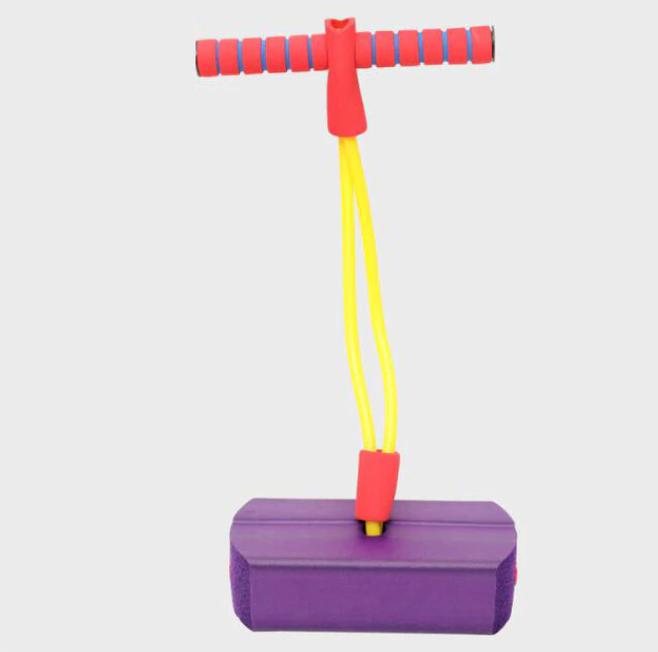 Skum Pogo Studsare Hopande Leksak För Barn Utomhus Fun Sport Fitness Småbarn Pojkar Flickor Barn Spel Sensoriska leksaker Giochi Bambini