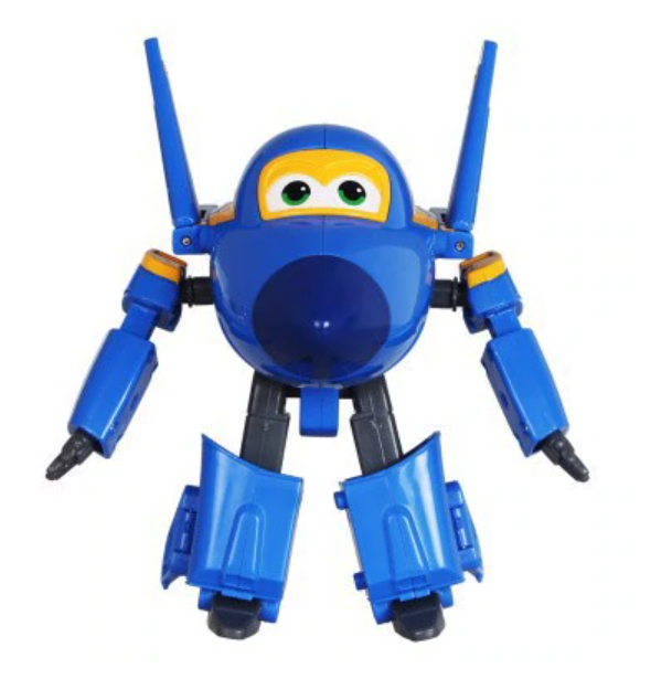 ABS Mästerflygarna Leksak Figur Flygplan Actionfigurer Robot Transformation Anime - Jerome
