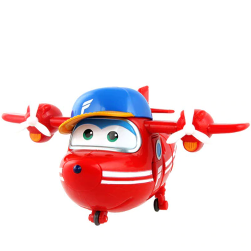 ABS Mästerflygarna Leksak Figur Flygplan Actionfigurer Robot Transformation Anime - Flip
