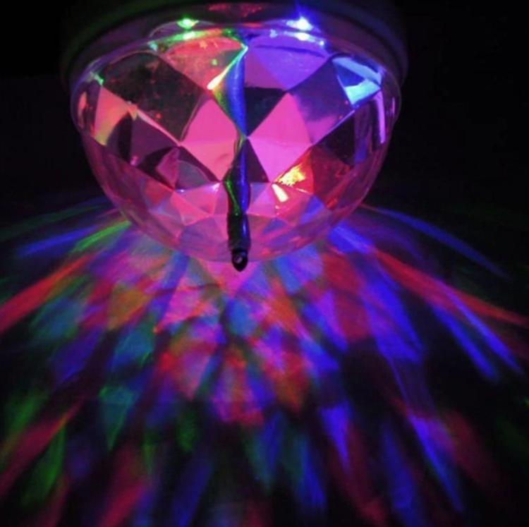 Roterande Disco Glödlampa Fest Lampa DJ Partylampa