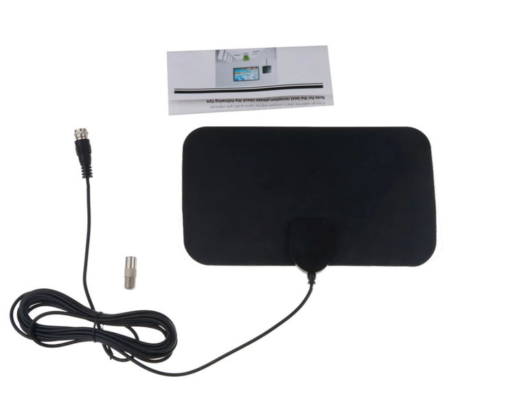 4K 25DB HD TV DTV Box Digital TV Antenn 50 Miles Booster Active Inomhus Aerial HD Ultratunn Design