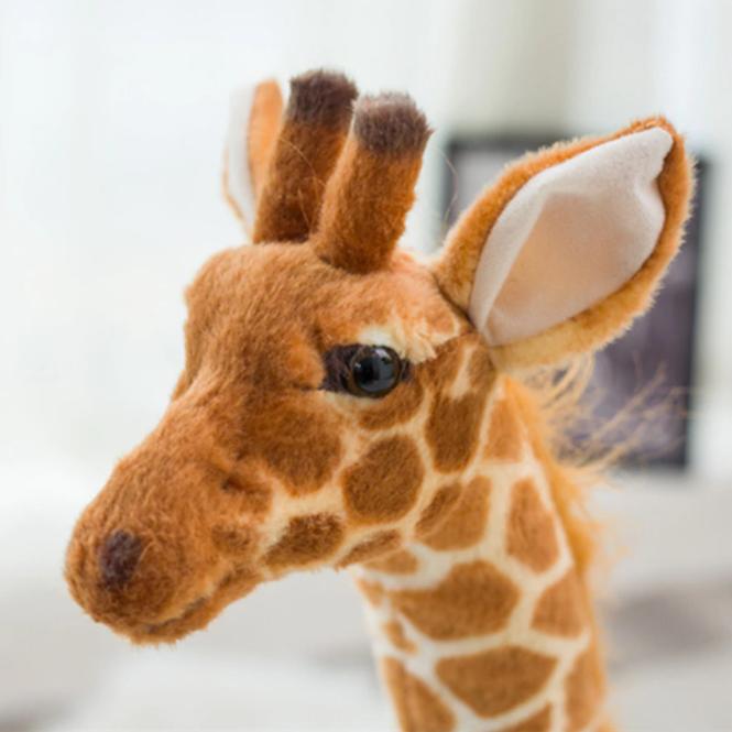 Stor Giraff Plysch Kramdjur Gosedjur Födelsedagspresent Sovrumsdekor