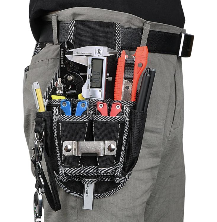 NICEYARD Borrskruvmejsel Utility Kit Hållare Borrhammare Förvaring Midja Ficka Verktygsbälte  Snickare 4.8