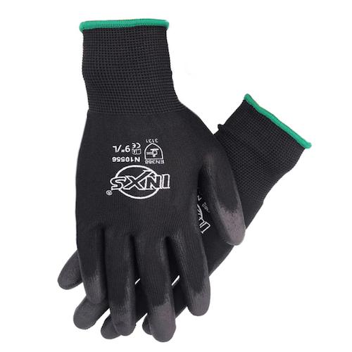 10 par PU Nitril Säkerhetsbeläggning Arbetshandskar Nitrilfoam belagda handskar Mekaniska Arbetshandskar