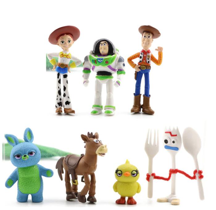 Toy Story Pixar Deluxe Figurer med Box