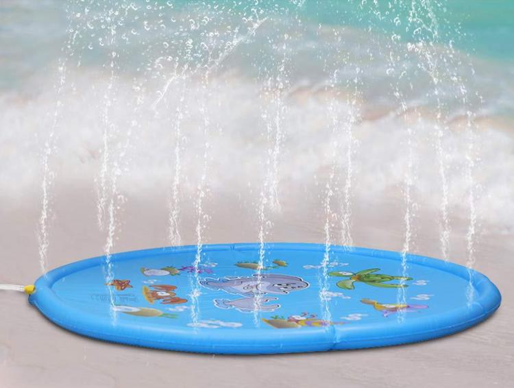 Sommar Barn Vatten Spel Lekmatta Barn Utomhus Vattenmatta För Barn Pool Spel Leksak Vatten Leksaker