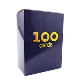 100 st Pokemon Kort (49 st V + 11 st VMAX + 39 st Tag + 1 st GX)