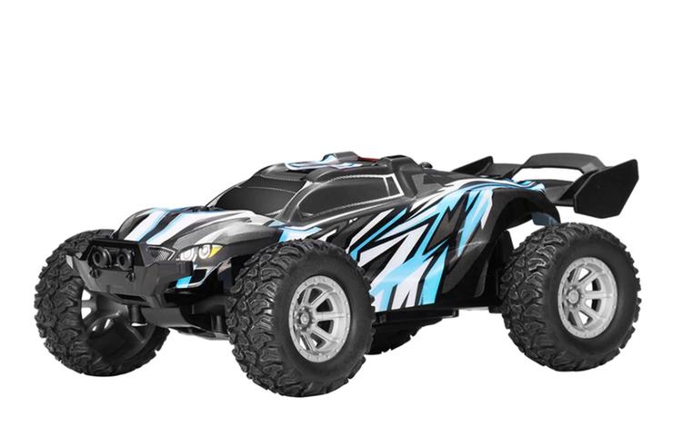 2021 1/32 2.4G 25 km / h Vattentät Radiostyrt Racerbil Buggy Truck Off-road Leksaker Fjärrkontroll Fordon Födelsdagspresent