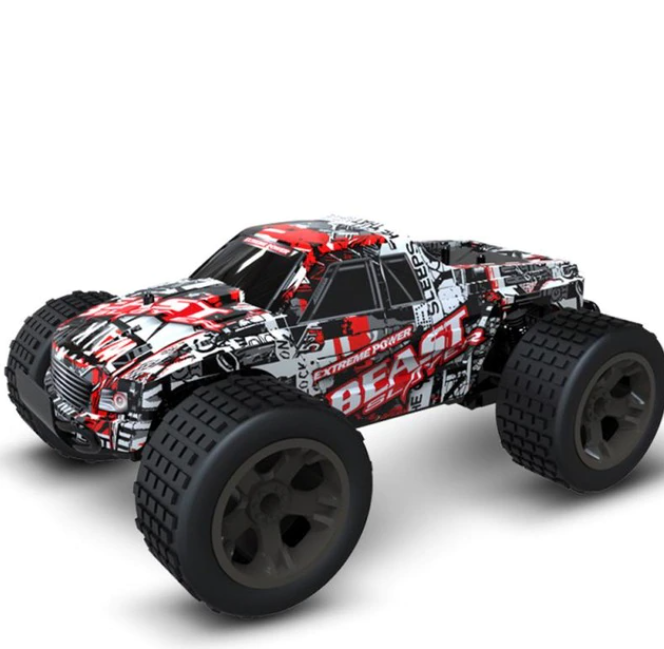 2,4 GHz Radiostyrt Bil Off Racecar Road Radio Control High Speed Klättring RC Billeksak för barn