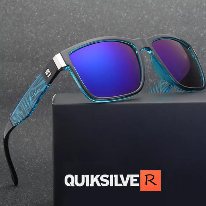 Mode Klassiska Fyrkantiga Solglasögon Män Kvinnor Sport Utomhus Fiske Resor Färgglada UV400 glasögon