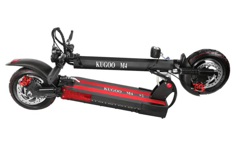Elektriskt Scooter 500W Motor 45 KM / H eScooter Skivbroms Sparkcykel med Säte
