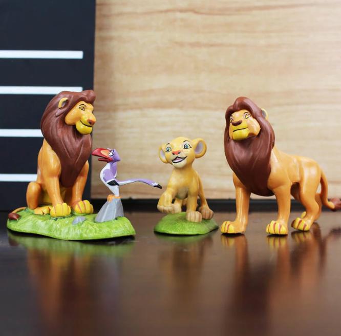 9-Pack Lejonkungen Figurer Deluxe