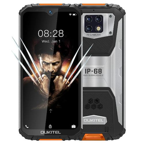 OUKITEL WP6 Global Version 6,3 tums FHD + IP68 Vattentät 10000mAh 48MP Triple Bakkamera 6GB 128GB Helio P70 4G Smartphone