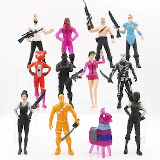 12-pack Fortnite Actionfigurer Anime Spel