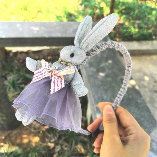 Kaninhårband För Barn Flickor Hårband Båg Prinsessa Huvudband