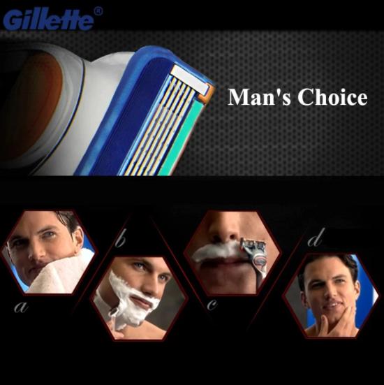 24 st ProGlide Rakblad För Gillette Fusion Män